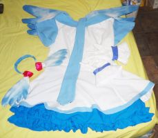 Cosplay Miku Project Diva by HollyMotto
