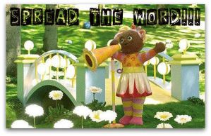 In the Night Garden - Spread the Word! by x0xChelseax0x