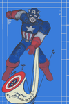 Captain America uses math by scholarwarrior-lad
