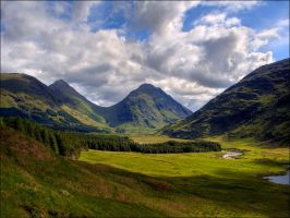 River Etive by novakovsky