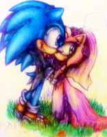 Sonamy Till death do us part - colour pencil by MissTangshan95