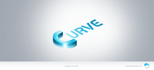 Curve logo concept by FIAMdesign