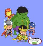 Avengers Shirt -- Loki's Playthings by xanykaos