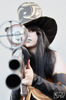 Caitlyn Cosplay: Got them in my sights by MomoeHamaguchi