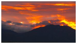 Dawn, Taos Mountain by EmmaSloane