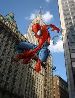 Spiderman by Gerardogarciaro