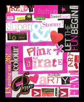 The Pink Poster by vedica