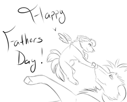 Happy Fathers Day [Late] by MzBrainless
