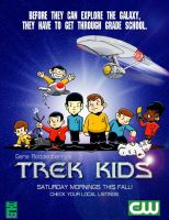 Mock Ad for Trek Kids by Ihlecreations