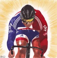 Chris Hoy by Jon-Wyatt