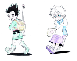 Pastel Children by breina