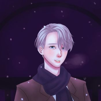viktor nikiforov by pretty-unicorn