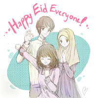 Eid Mubarak Everyone! by sharaps
