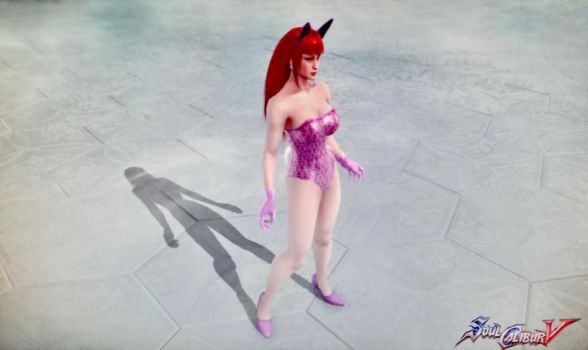 Wilma Sue-bunnygirl in soulcalibur V03421 by Cliffather