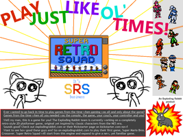 Super Retro Squad - advertisement by Rey-D
