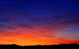 Virginia Range Sunrise by sellsworth