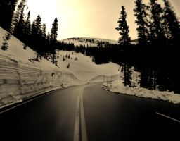 The Road to Somewhere by msteenphotographer