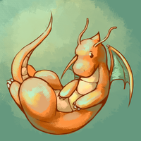 Dragonite by Vogelspinne