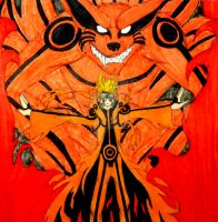 The Jinchuuriki of Kurama by InkArtWriter