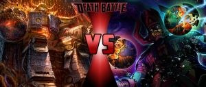 DEATH BATTLE: Unicron vs Galactus by G-Odzilla