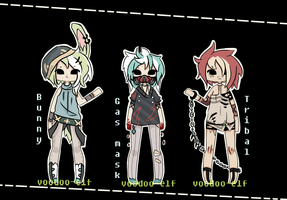 Male adopts [3] TAKEN~ by Voodoo-Elf