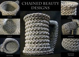Chainmaille Beer Stein by ChainedBeauty