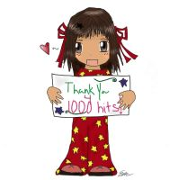 Thank you :1000 hits: by MizuHikari