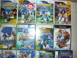 Sonic Game Collection by katehedgehog