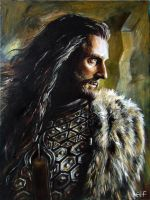 Thorin Oakenshield by Ainaven