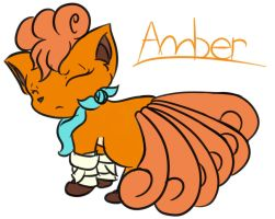 Amber: The Leader by Brownie-Bytes