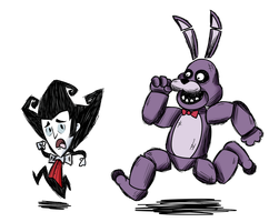 Don't Starve at Freddy's by SrPelo
