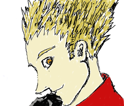 Vash Sketch by stalgicxsilences