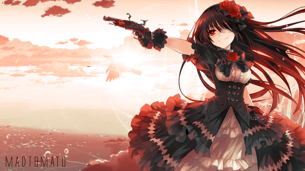 Kurumi Tokisaki Wallpaper From Date A Live by Madtomatoes