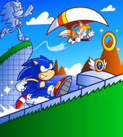 Sonic - Welcome to the Blue Coast Zone by JamesmanTheRegenold