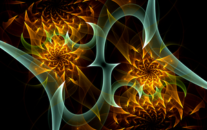 fire spirals by Andrea1981G