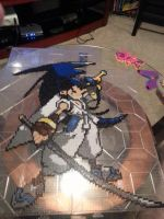 Brave Fencer Musashi Perler Art by Michahay