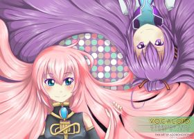 .: Vocaloid: Luka n Gakupo :. by adobongsiopao