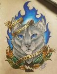 Traditional Bluestar by TheMoonfall