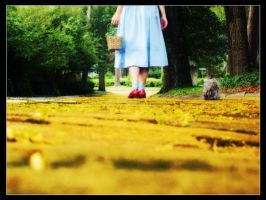 Follow the Yellow Brick Road by celticruins