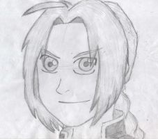 Edward Elric attemp to Mel by Foofoopapachon