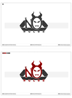 No Rules Gaming Logotype by pcwunder