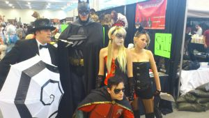 NF Comicon : Batman Group by TheWarRises