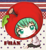 Apple headed Fran by Naiconiku