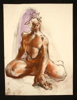 Figure life drawing 7 by EuJeanJung