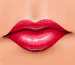 Confident lips. by limelin