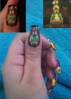Jovani nail art by amanda04