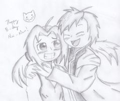 Happy Birthday Nii-san x3 by AsuruiHiane