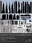 Speed Painting Brush Pack by leeislee