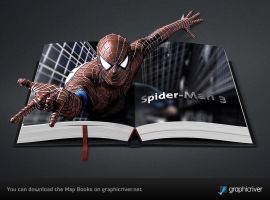 Map Books and Spider-man by templay-team