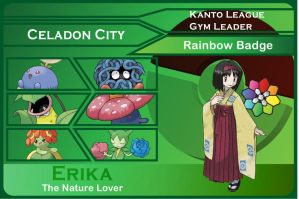 Kanto Gym Leader 4-Erika by JohnRiddle20